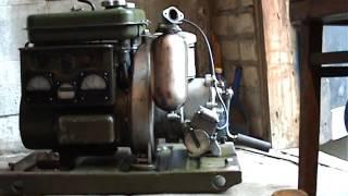 Бензиновый армейский генератор АБ-1/0/230 обзор.