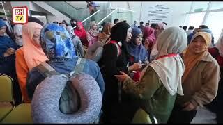Kemalangan Turki: Kakitangan PKNS selamat tiba di tanah air