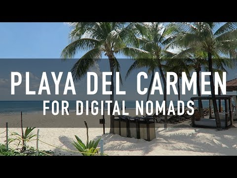 PLAYA DEL CARMEN FOR DIGITAL NOMADS | PRICES, COWORKING, CAFES & MORE