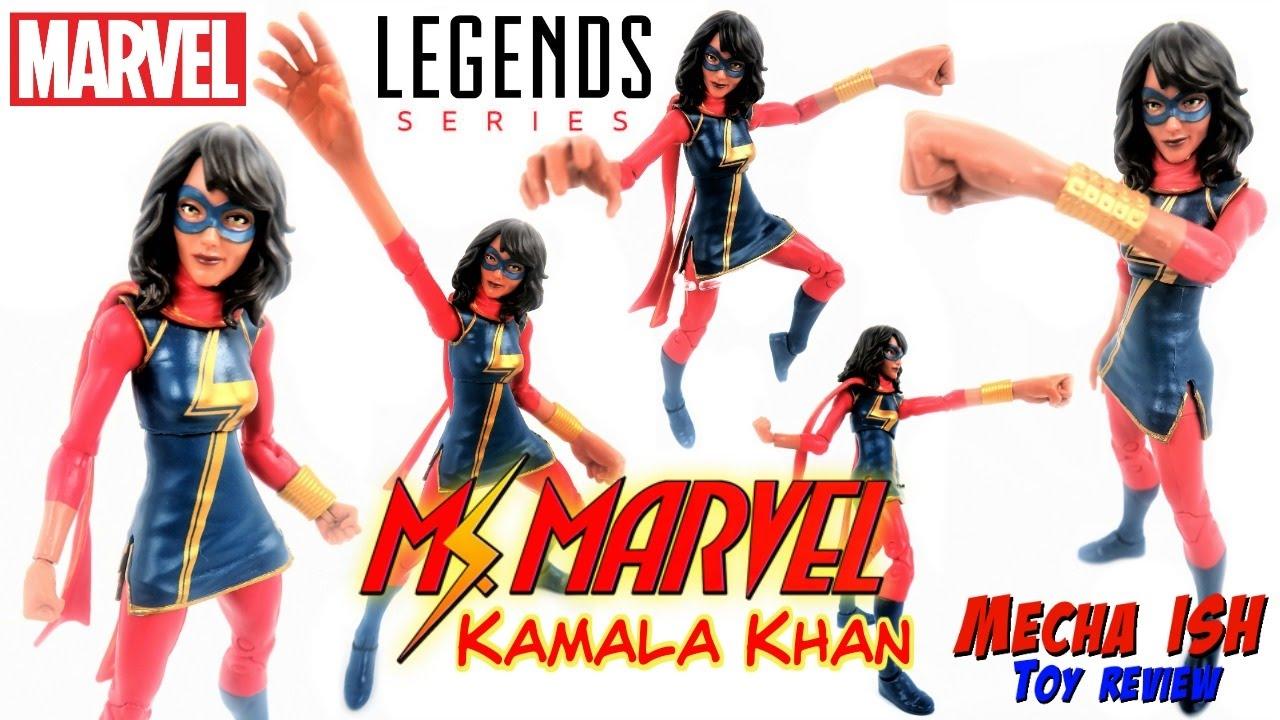 Marvel Legends Spider-Man Series Ms Marvel Kamala Khan Action Figure