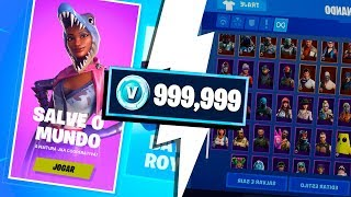 COMMENT GET ENDLESS VBUCKS AT FORTNITE! (Sauvez le monde)
