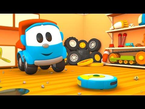 Eğitici çizgi film Türkçe izle. Leo Junior odasını temizliyor!