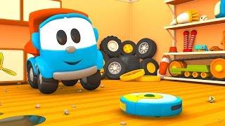 Leo Junior - eğitici çizgi film Türkçe izle. Leo Junior odasını temizliyor!