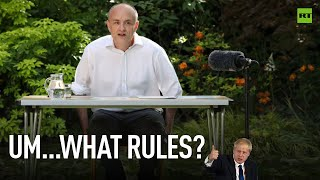 Easy Cummings, not easy goings   UK govt under fire for not following its own rules