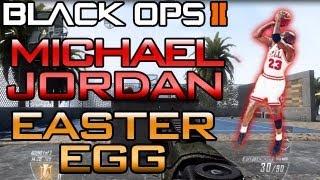"""Black Ops 2: """"Michael Jordan Easter Egg on Raid"""" (BO2 Secret Multiplayer)"""