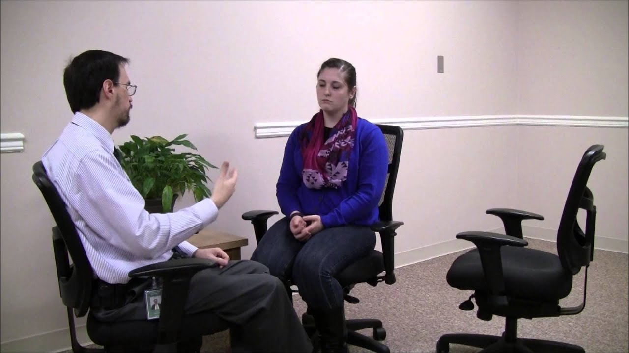 Gestalt Therapy Role-Play - Two-Chair Technique with ...