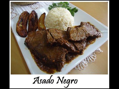 ASADO NEGRO VENEZOLANO receta completa increible