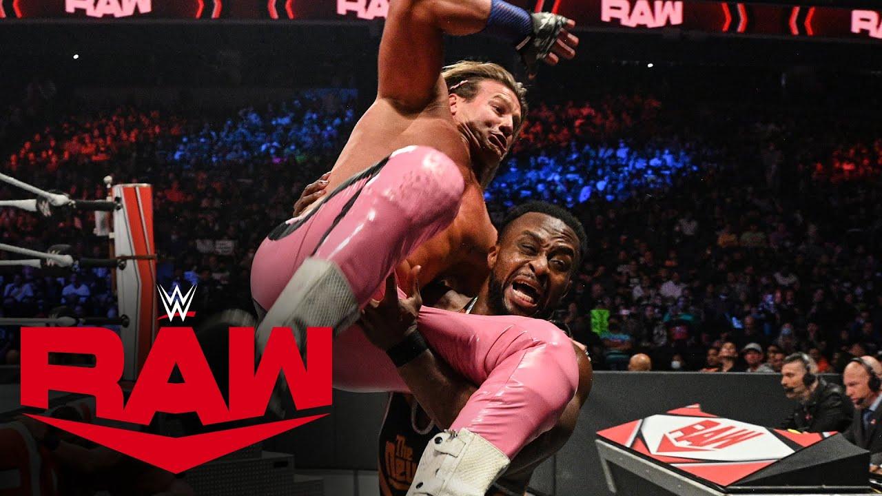 Download Big E & Drew McIntyre vs. Dolph Ziggler & Robert Roode: Raw, Oct. 18, 2021