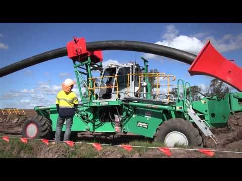 Murphy Pipe and Civil Pipeline Plough Technology