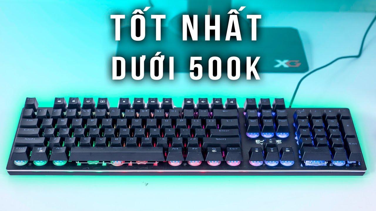 Bàn Phím R-G-B Giá 500.000 Đồng  – Eblue EKM 768   HANOICOMPUTER