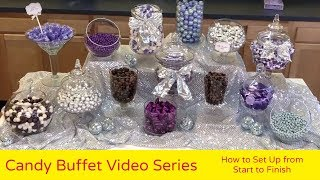 How to Set Up a Candy Buffet from Start to Finish - Part 6, Candy Buffet Tips from All City Candy