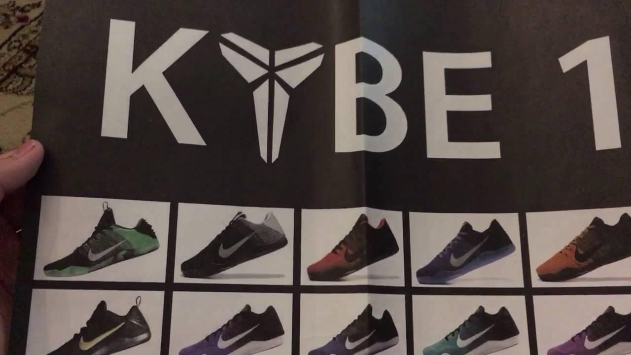 FAKE Kobe 11 FTB Unboxing - YouTube