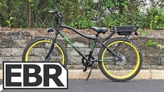 Big Cat Phantom Electric Bike Video Review