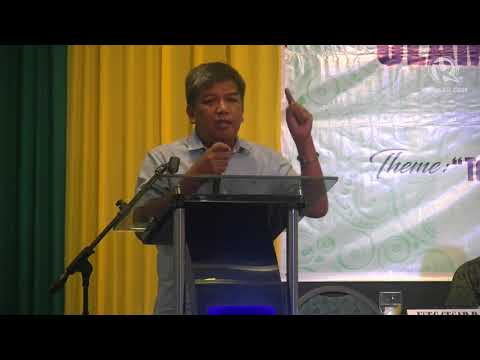 ARMM Governor Mujiv Hataman calls for jihad against terrorists