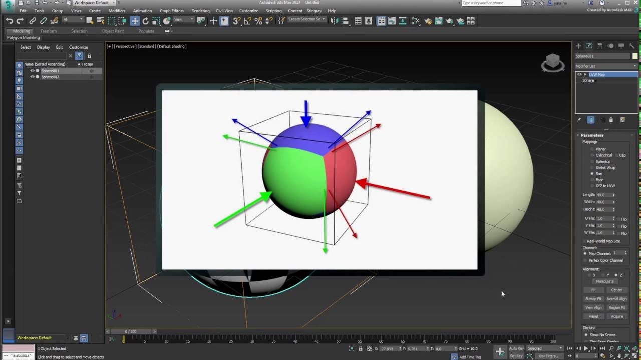 New* 3ds Max Blended Box Map - Part 1 - Main Concepts