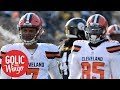 Should Browns really celebrate winless season with 0-16 parade? | Golic & Wingo | ESPN
