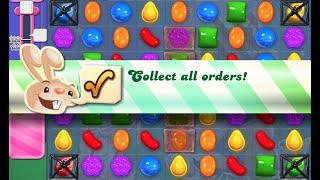Candy Crush Saga Level 408 walkthrough (no boosters)