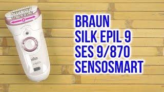 Розпакування BRAUN Silk epil 9 SES 9/870 SensoSmart