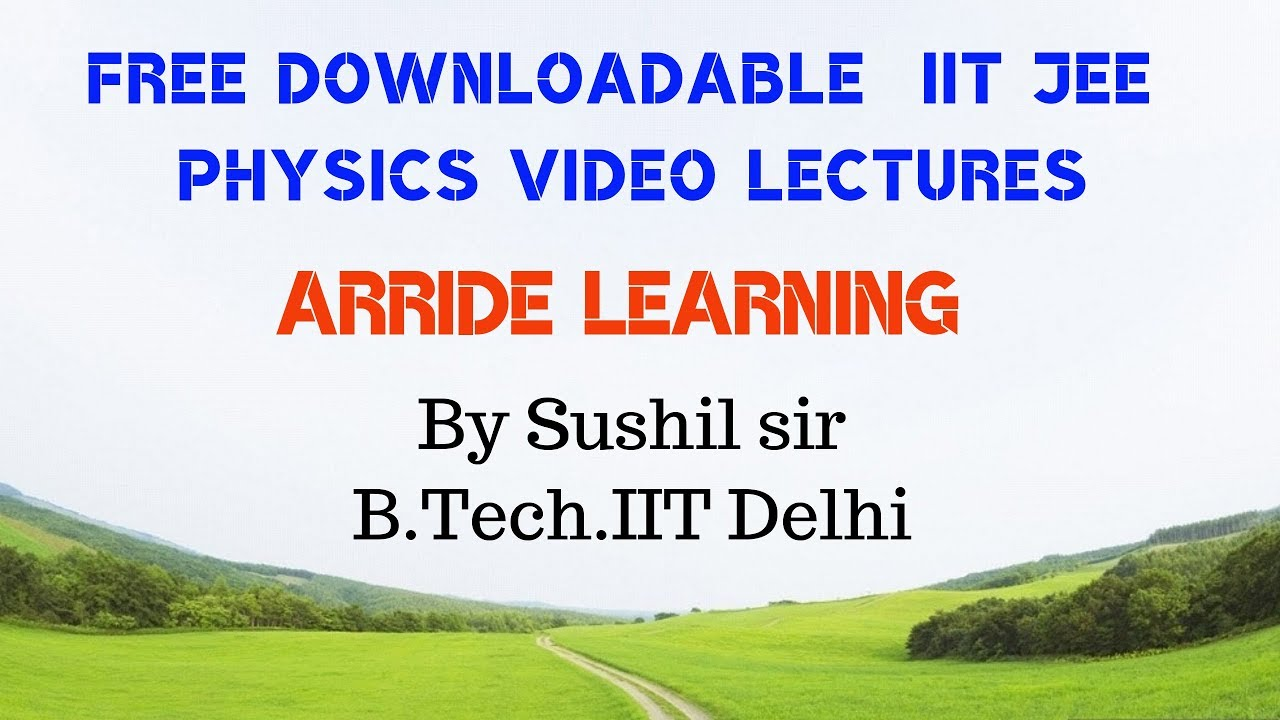 Which websites provide free video lectures for iit jee mains.