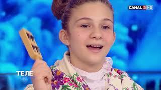 Вокальный ансамбль «Лира» с колядками на Canal3-Moldova