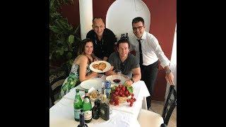 Mark Wahlberg (Transformers) and wife Rhea Durham in Capri (Italy)