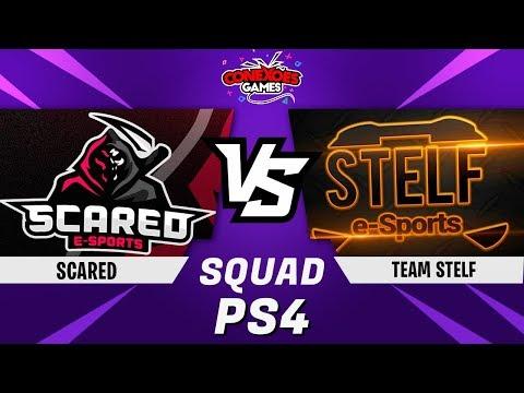 TEAM STELF vs SCARED - TORNEIO SQUAD PS4 - FINAL