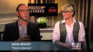 "Kevin Spacey, Robin Wright on ""House of Cards"" season 2"