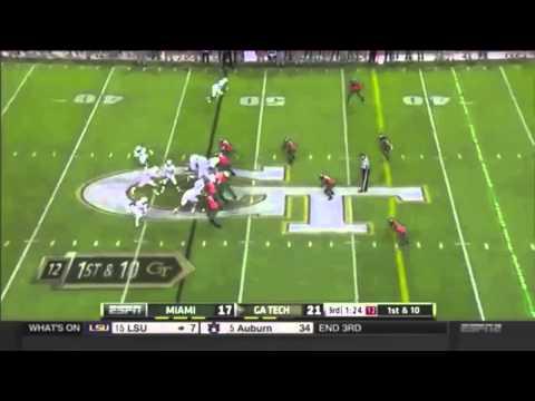 Shaq Mason Highlights - Georgia Tech