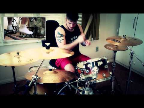 Glamour of the kill here behind these walls drum cover watch in fullhd