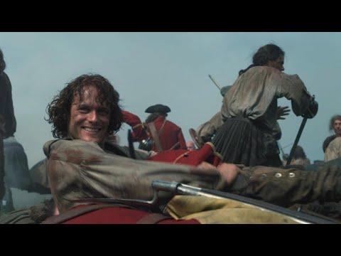 'Outlander' Season 3 Gag Reel: Watch Sam Heughan and Caitriona Balfe Goof Off on Set! Exclusive