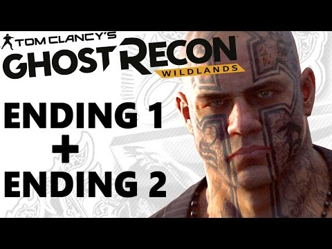 GHOST RECON WILDLANDS ALL ENDINGS (Good & Bad) EL SUEÑO Gameplay Walkthrough 100%