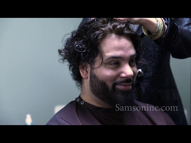 Samson Hair Transformation