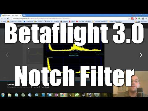 Betaflight 3.0 Notch Filter - What Is It?