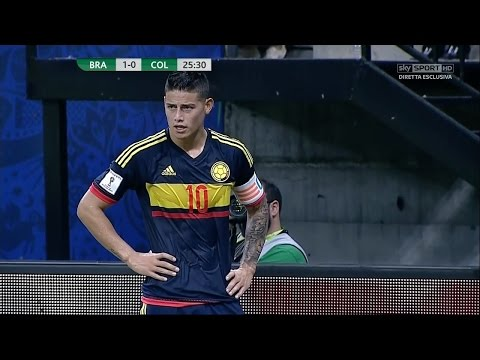 James Rodriguez vs Brazil (H) - 16/17 HD by JamesR10™