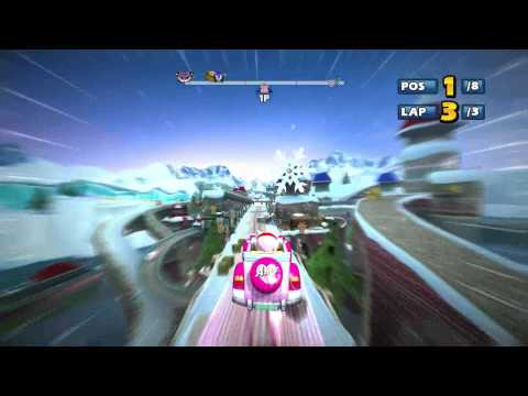 Sonic and SEGA All-Stars Racing (PC) - Chao Cup, Beginner, Amy rose