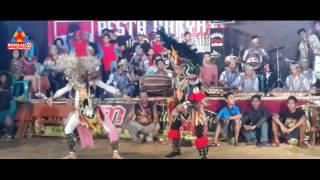 "Traditional dance ""black mask- reog"" boyolali, central java, indonesia"