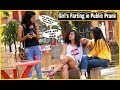 Farting on GIRL'S Prank - Epic Reactions || Pranks in india || By TCI