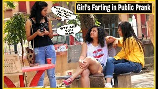 Farting on GIRL'S Prank - Epic Reactions    Pranks in india    By TCI