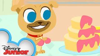 Pat-a-Cake 🍰  | 🎼  Disney Junior Music Nursery Rhymes | Disney Junior