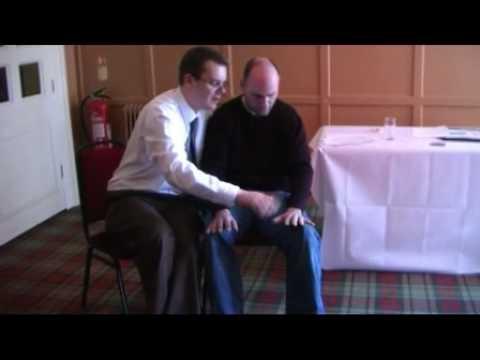Hypnosis training with Chris Hughes