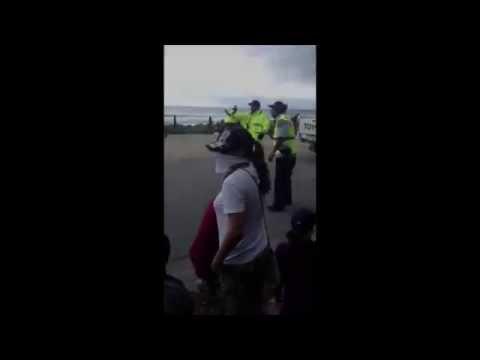 Refugee protesters on Nauru