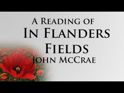 Wordplay - Poetry - In Flanders Fields by John McCrae