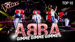 The best ABBA covers on The Voice | Top 10