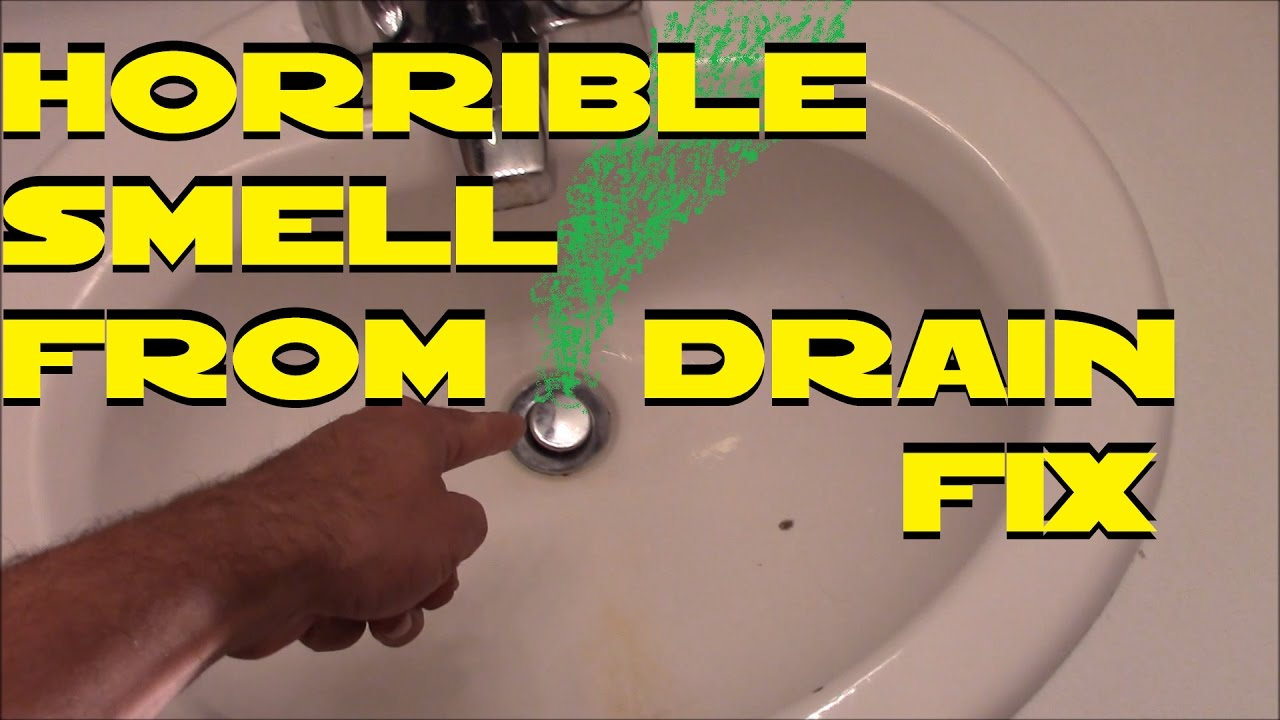 How to clean a stinky sink drain by home repair tutor youtube - How To Fix Your Stinky Drains Super Easy D I Y