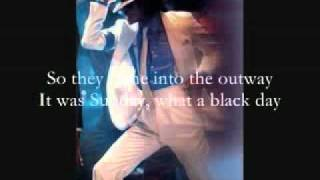 Michael Jackson ~ Smooth Criminal [Instrumental-Karaoke] Lyrics on screen