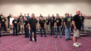 Kentucky Vocal Union - Every Breath You Take - Rehearsal in Portland 2012
