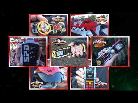 Forever Red Team Morph - 7 Rangers (Power Rangers Ninja Storm - RPM) *Disney Era Tribute*