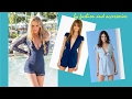 Women Blue Rompers