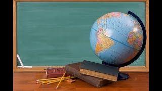 Глобус — модель Земли  Меридианы и параллели. География 5 класс.