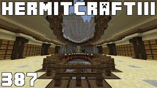 Hermitcraft III 387 Red Sand Machines